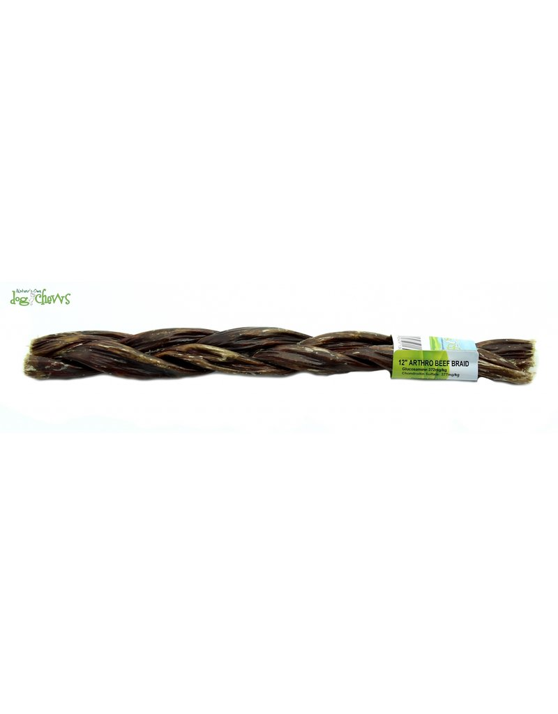 NATURE'S OWN ARTHO BEEF BRAID 12""