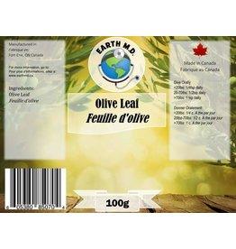 EARTH MD OLIVE LEAF POWDER 100G