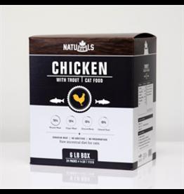 NATURAWLS FELINE CHICKEN & TROUT 6LB (24 x 4OZ)