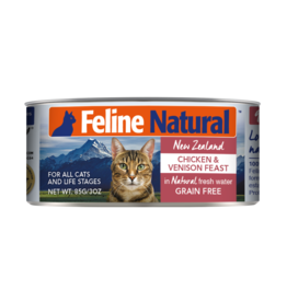 FELINE NATURAL CHICKEN & VENISON FEAST