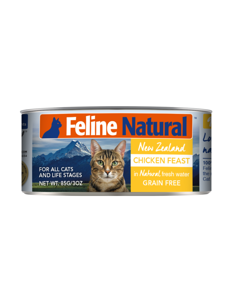 FELINE NATURAL CHICKEN FEAST 6OZ CAN