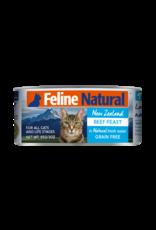 FELINE NATURAL BEEF FEAST 6OZ CAN