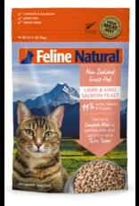 FELINE NATURAL LAMB & KING SALMON CAT FREEZE DRIED 320G