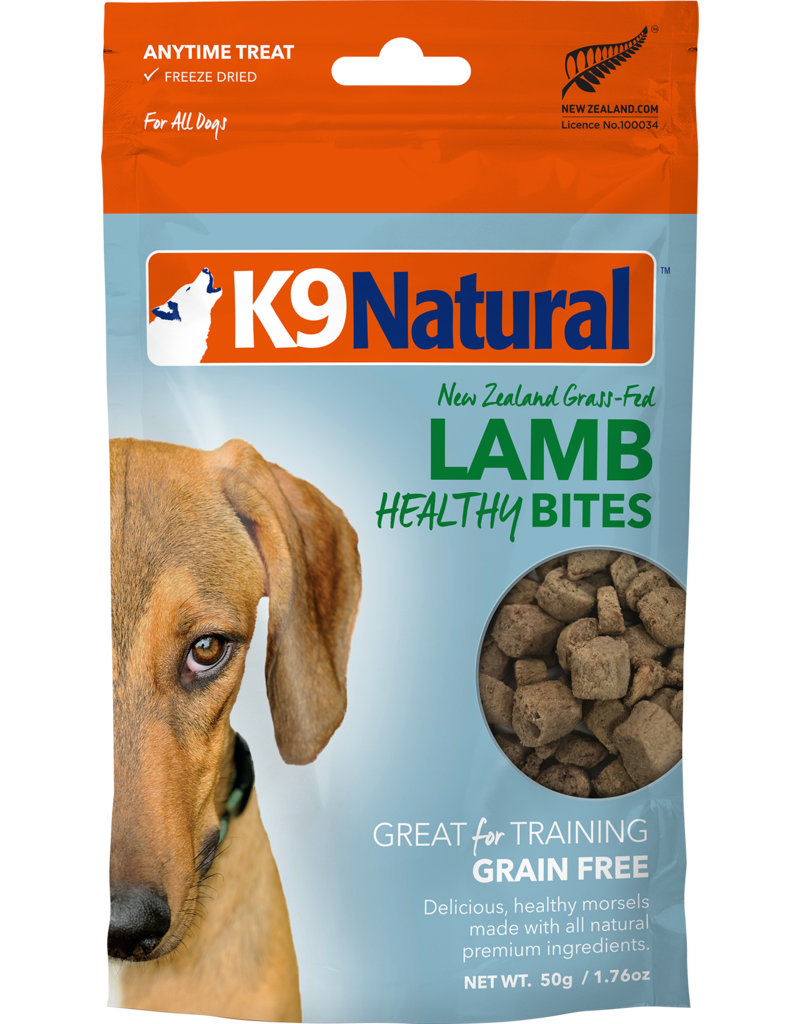 K9 NATURAL LAMB HEALTHY BITES 50G