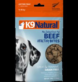 K9 NATURAL HEALTHY DOG BEEF BITES 50G