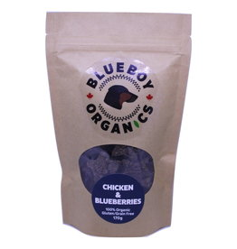 BLUEBOY ORGANICS CHICKEN & BLUEBERRIES 170G