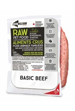 IRON WILL RAW BASIC BEEF 6LB BOX (6 x 1LB)