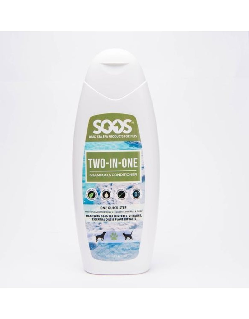 SOOS TWO-IN-ONE SHAMPOO CONDITIONER