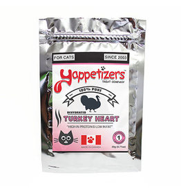 YAPPETIZERS CAT TURKEY HEART 40G