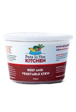 PETS IN THE KITCHEN BEEF & VEGETABLE STEW 1LB