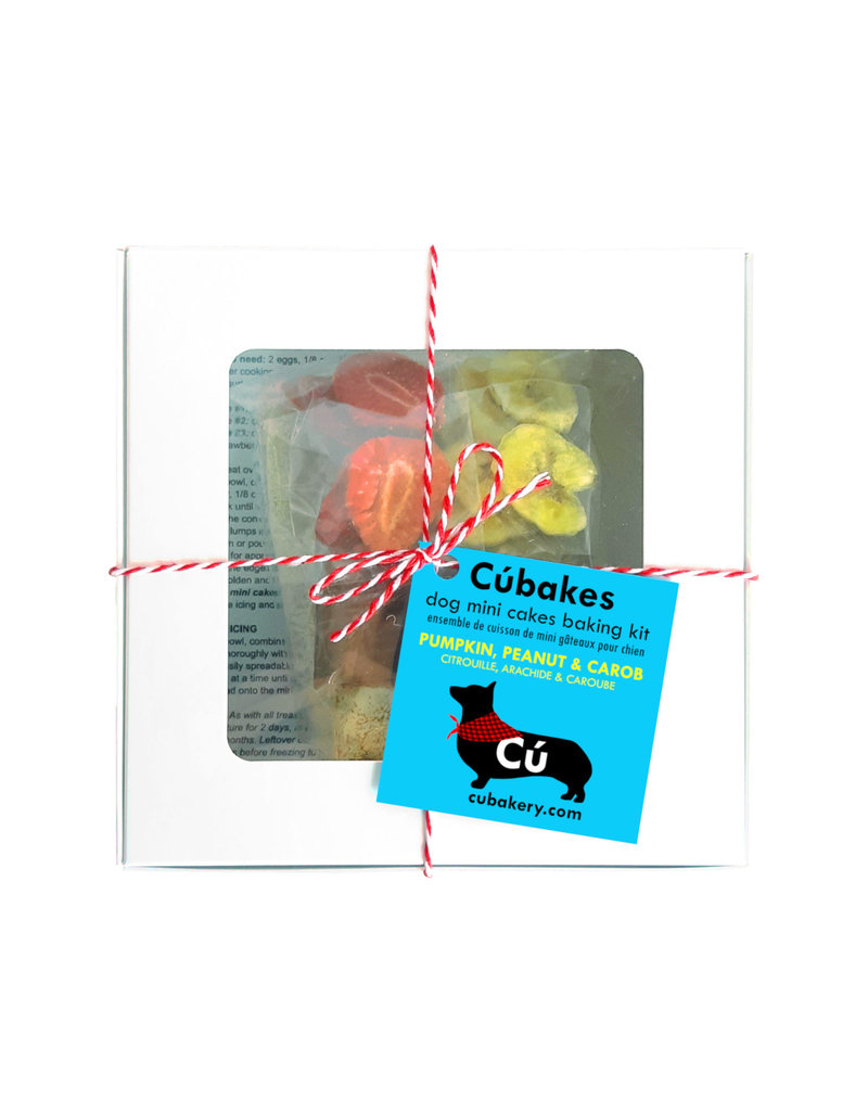 CU BAKERY CUBAKES DOG MINI CAKES KIT 263G