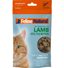 FELINE NATURAL HEALTHY CAT LAMB BITES 50G