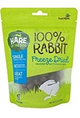HARE OF THE DOG FREEZE DRIED RABBIT TREATS 2.25OZ