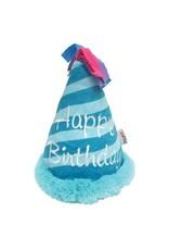 BIRTHDAY HAT BLUE