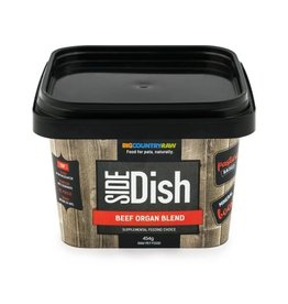 BIG COUNTRY RAW BEEF ORGAN BLEND 1LB TUB
