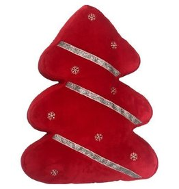 PETLOU HOLIDAY TREE RED 12""