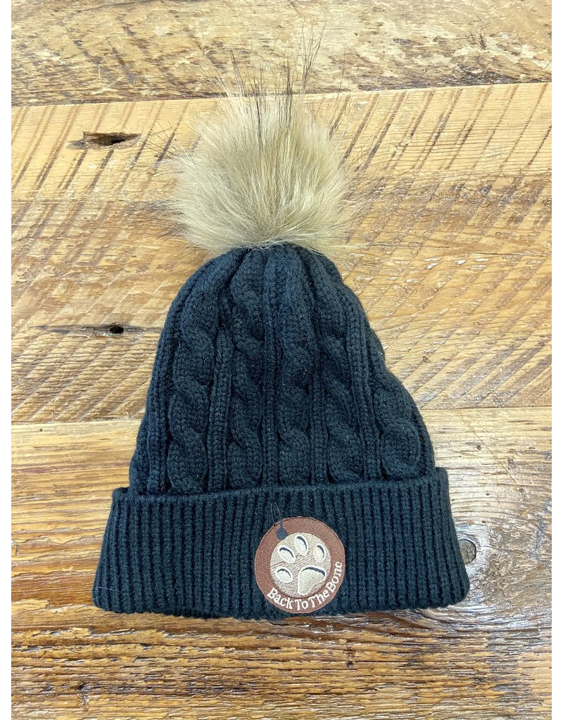 BTTB TOUQUE WITH  POM