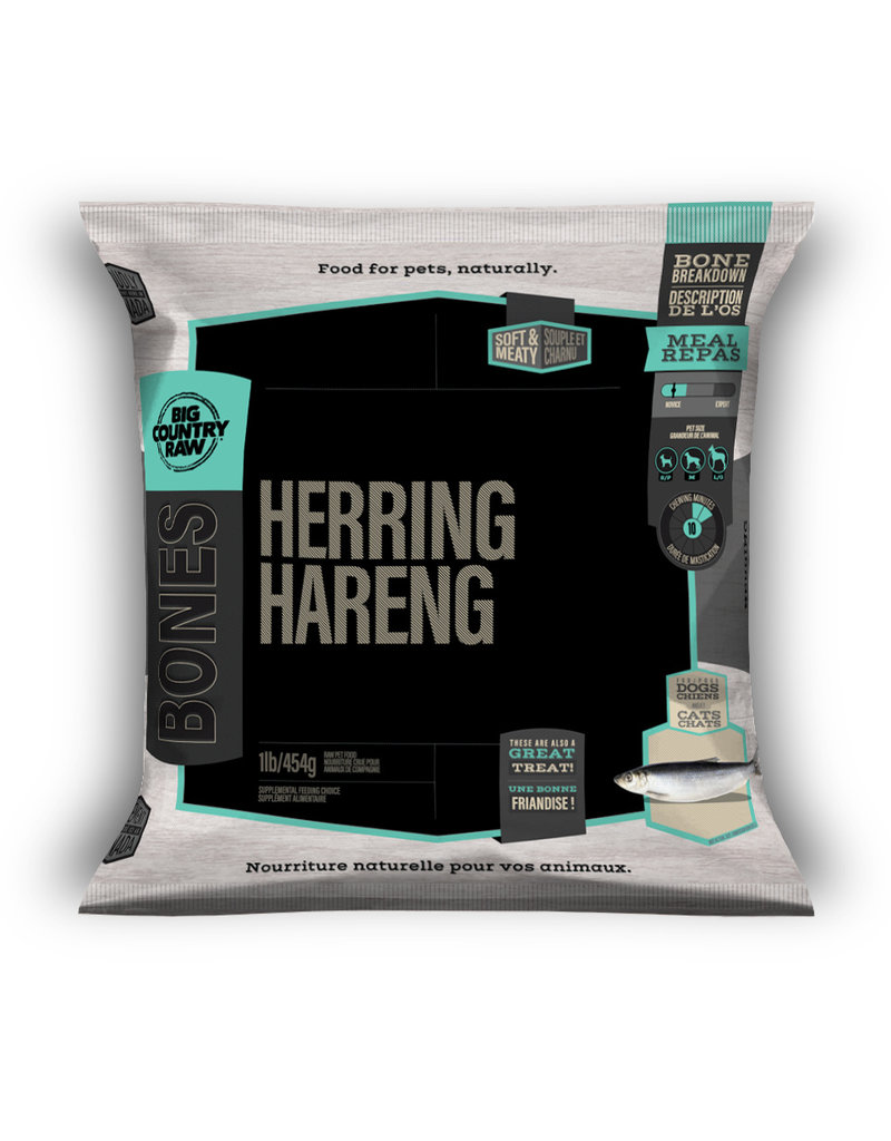 BIG COUNTRY RAW WHOLE HERRING