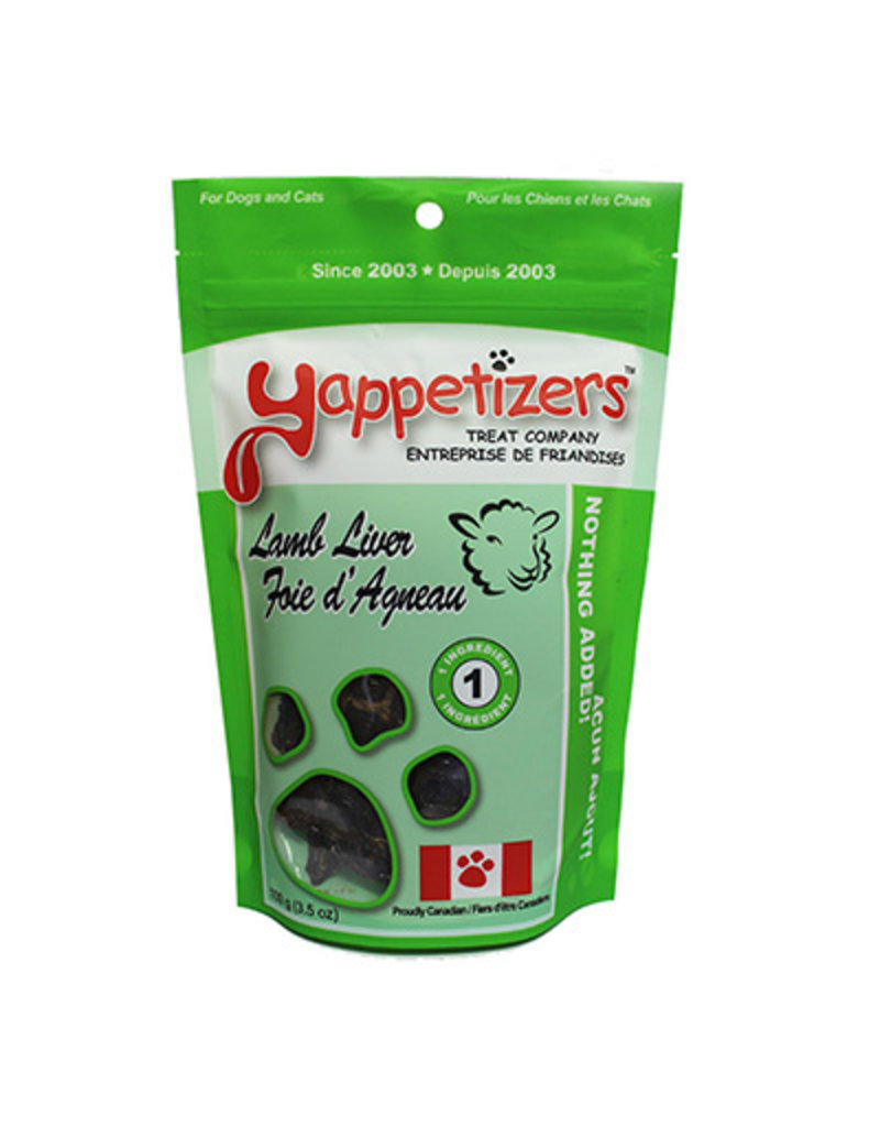 YAPPETIZERS LAMB LIVER 100G