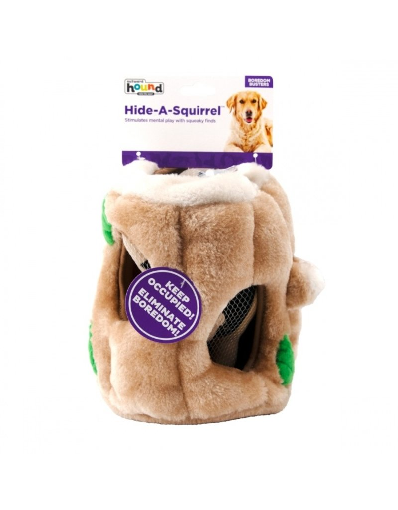 PUZZLE PLUSH HIDE A SQUIRREL