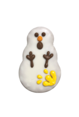 OH NO YELLOW SNOWMAN COOKIE