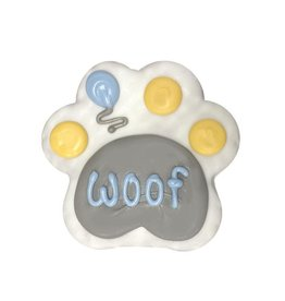 "PRE-PACKAGED 4"" WOOF PAW BLUE COOKIE"