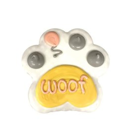 "PRE-PACKAGED 4"" WOOF PAW PINK COOKIE"