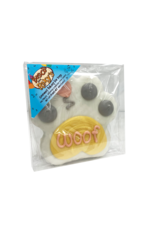 "PRE-PACKAGED 4"" WOOF PAW PINK COOKIE"