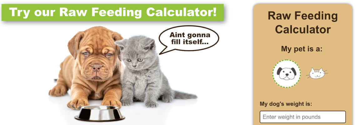 Raw Feeding Calcutaor
