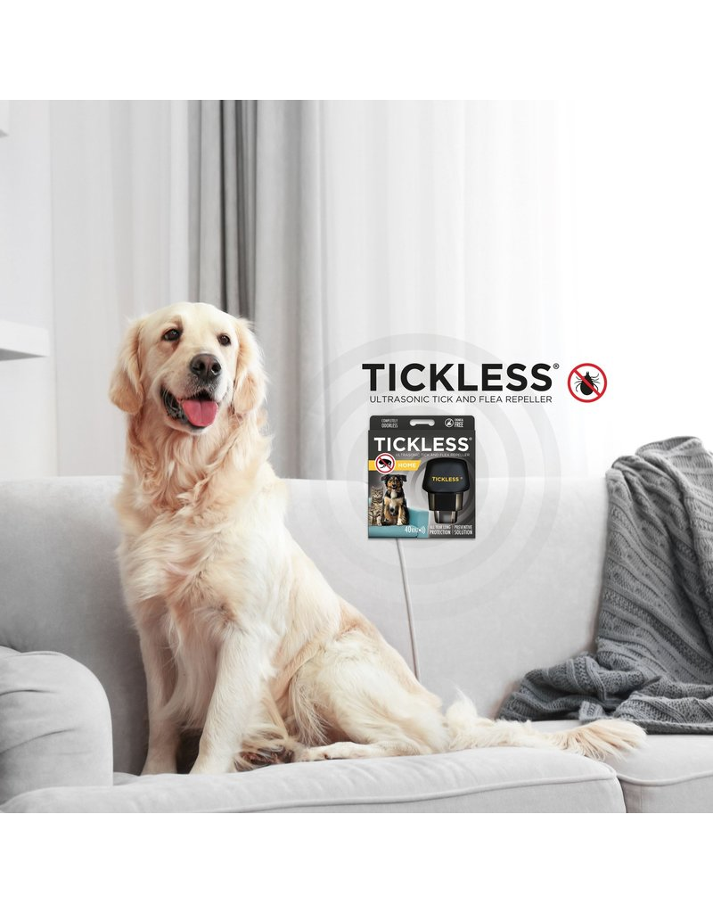 TICKLESS ULTRASONIC TICK & FLEA REPELLER HOME