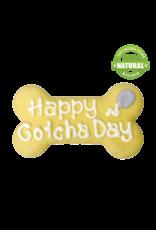 """HAPPY GOTCHA DAY 6"""" BONE COOKIE"""