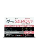 IRON WILL RAW BASIC SALMON 4LB BOX (8 x 8OZ)