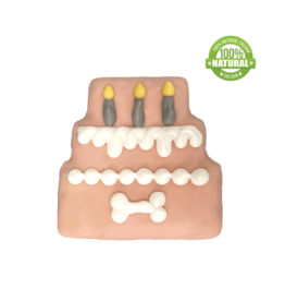 THREE TIER BIRTHDAY CAKE COOKIE PINK