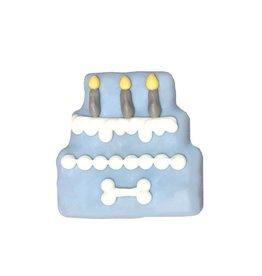 THREE TIER BIRTHDAY CAKE COOKIE BLUE