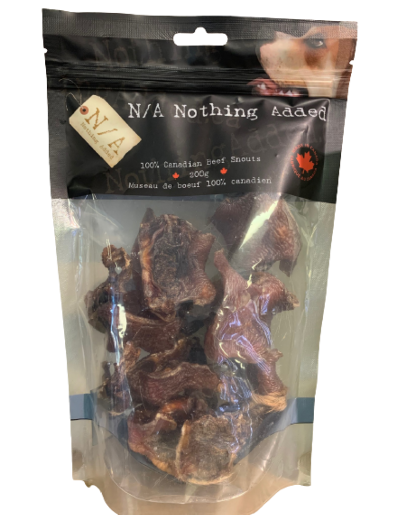 NOTHING ADDED BEEF SNOUTS 200G