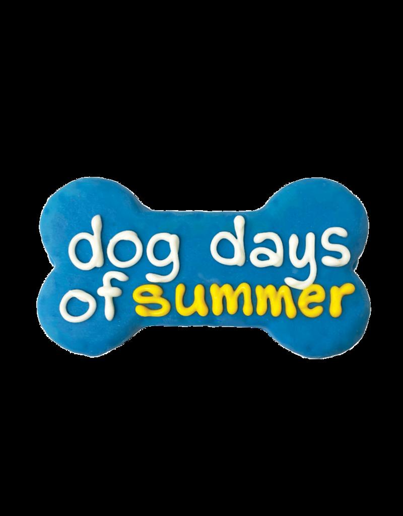 """DOG DAYS OF SUMMER 6"""" BONE COOKIE"""