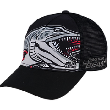 Abu Garcia Beast Trucker Hat, Black, O/S