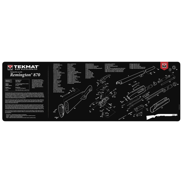 TekMat Gun Cleaning Mat, Remington 870