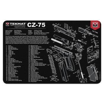 TekMat Gun Cleaning Mat, CZ-75