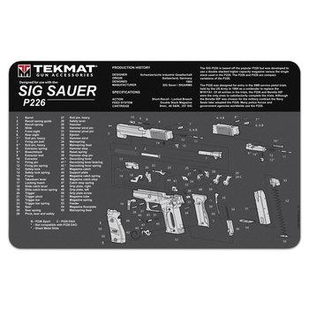 Beck Tek TekMat Sig Sauer P226 Gun Cleaning Mat