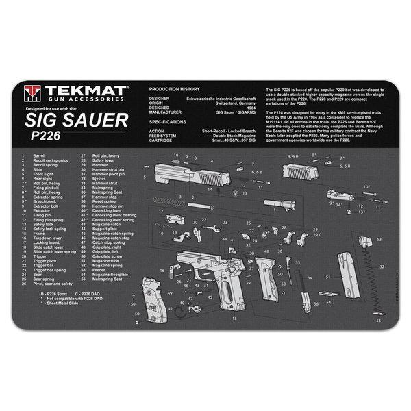 TekMat Gun Cleaning Mat, Sig Sauer P226