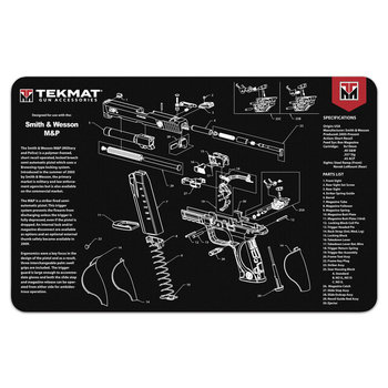 TekMat Gun Cleaning Mat, Smith & Wesson M&P