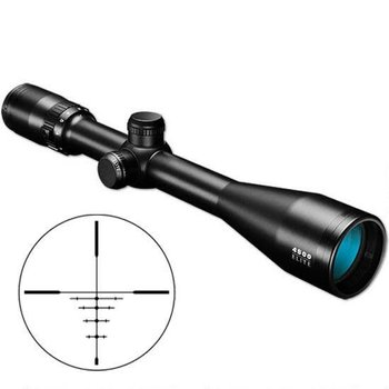 "Elite 4500 2.5-10x40 Riflescope DOA 600 CF Reticle 1"" Tube 1/4 MOA Matte Black 452104B"