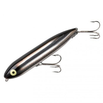 "Heddon Zara Spook 4-1/2"" Black Shiner"