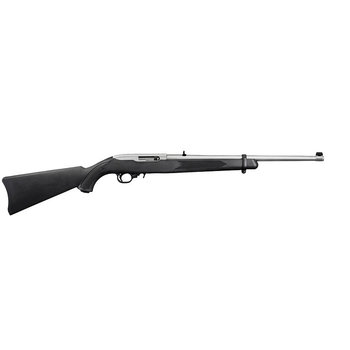 "Ruger K10/22 RBPBTC Semi-Auto Rifle, 22 LR, 18.5"" Barrel, 10 Rounds, Synthetic Stainless"