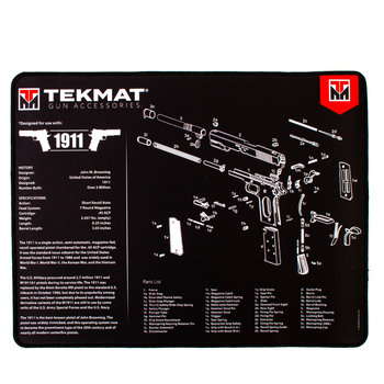 TekMat Ultra Premium Gun Cleaning Mat, 1911
