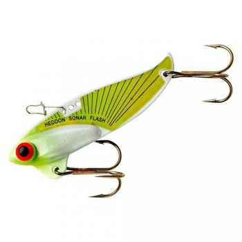 Heddon Rattling Sonar Flash 1/2oz Chartreuse Flash