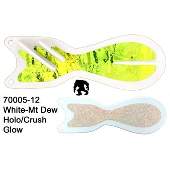 Dreamweaver Spindoctor 12 Inch White-Mountain Dew Glow Crush