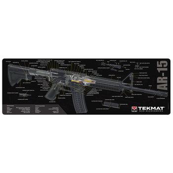 TekMat Gun Cleaning Mat, AR-15 3D Cutaway