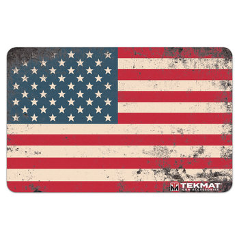 TekMat Gun Cleaning Mat, Punisher Old Glory